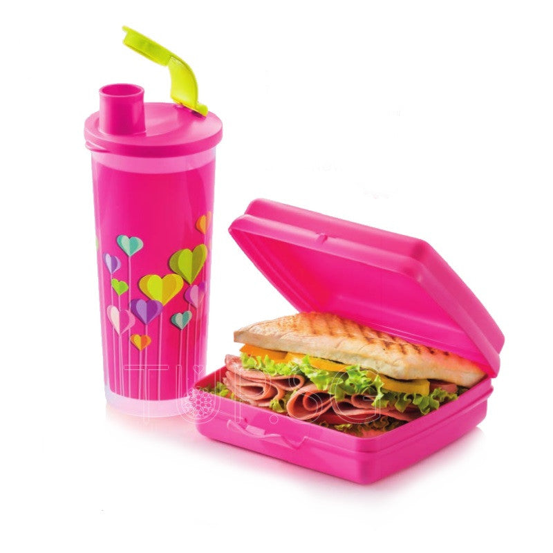 Tupperware Trendy Lunch Set