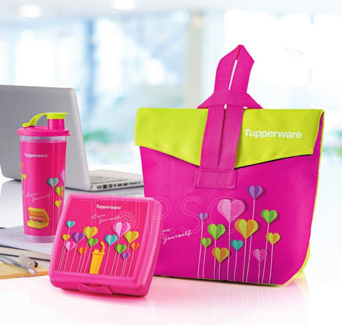 Tupperware Trendy Lunch Set with Pouch
