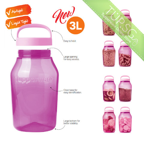 Tupperware Singapore | Universal Jar (1) 3.0L