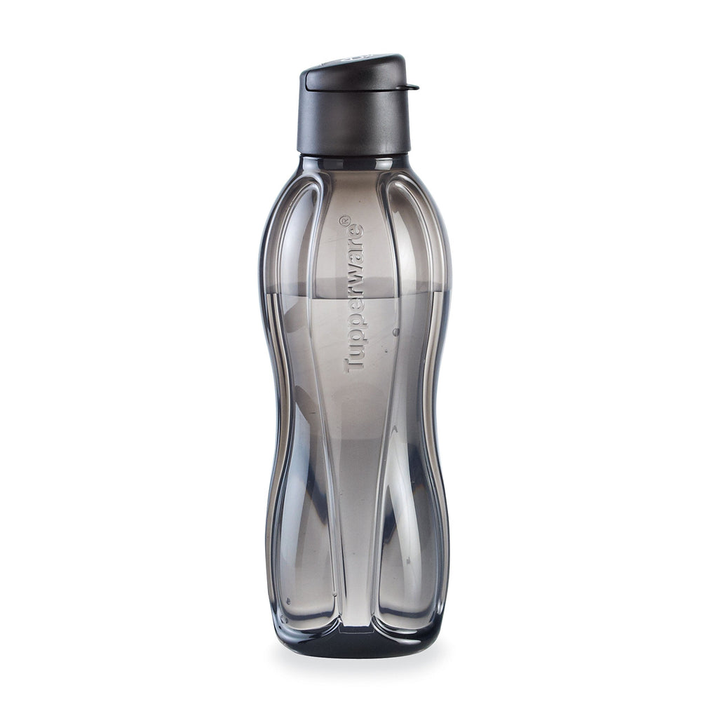 Tupperware Eco Bottle 1L Flip Top Black