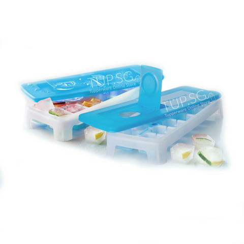 Tupperware Ice Cube Tray with Lid (2)