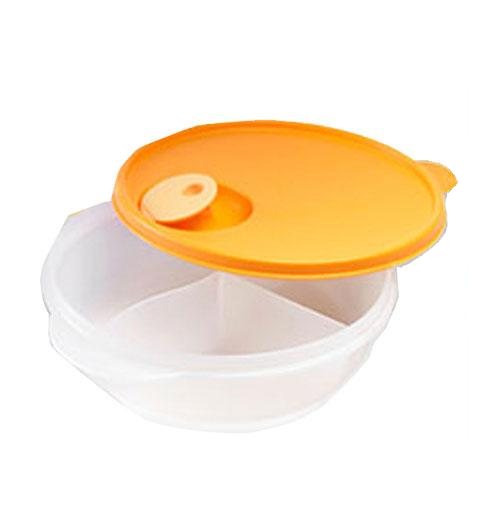 Sectioned Tupperware: CrystalWave Divided Dish