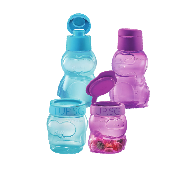Tupperware Kids Fun Set (Penguin & Dino)