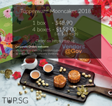 Tupperware Treasure Mooncake Gift Set 2018