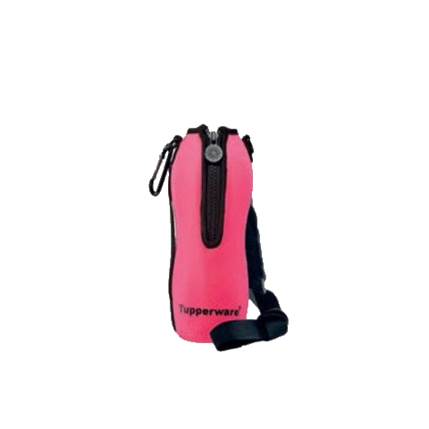 Tupperware Singapore | Pink Pouch with Strap for 750ml Eco Bottles