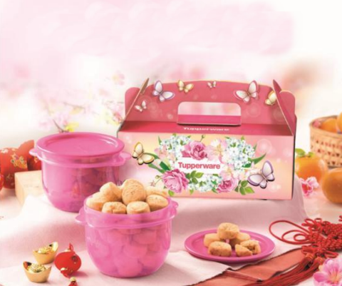 Pre-order: 2020 Tupperware CNY Chinese New Year Cookies Gift Set (Halal حلال )