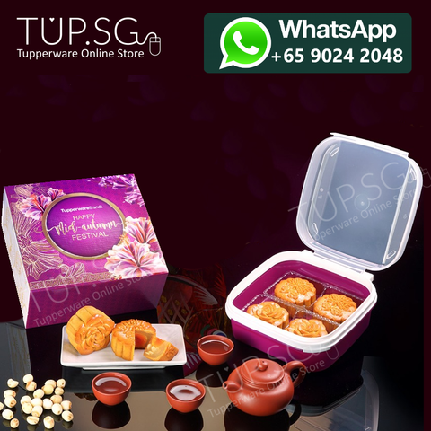 Tupperware Singapore 2019 Mooncake Gift Set