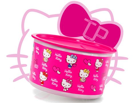 Tupperware Hello Kitty One Touch Topper Large 2.0L