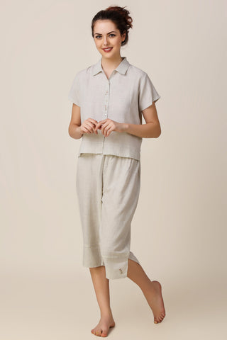 Maisie, Embroidered Pyjama Suit
