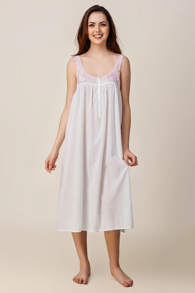 Kate, Embroidered Nightdress