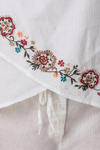 Freida, Embroidered Shorts & Top