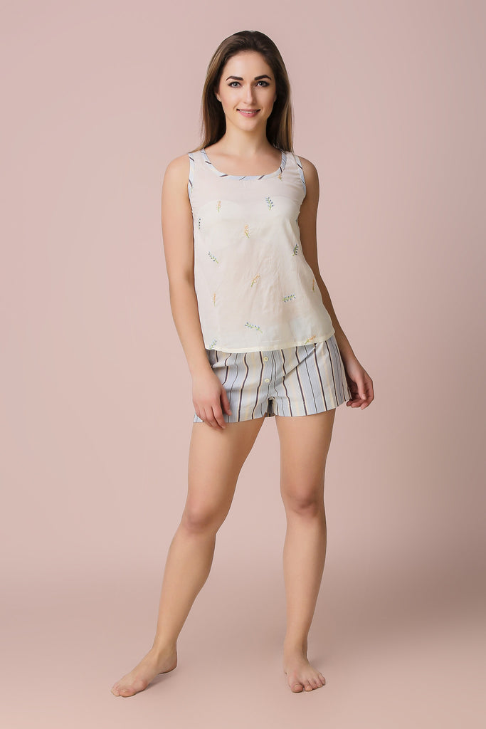 Thyme, Shorts & Top - After Dark by Craftline