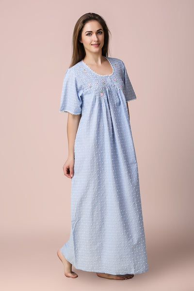 Agatha, Nightdress - Relaxed Fit - After Dark by Craftline