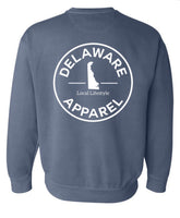 Blue Jean Crew Neck Sweatshirt (Comfort Colors)