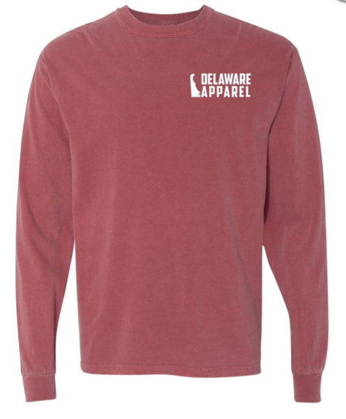 Brick Red Long Sleeve (Comfort Colors)