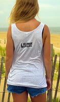 White Fleck Scrapple Tank Top