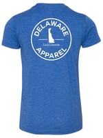 Royal Blue Delaware Apparel T-Shirt (YOUTH SIZES)