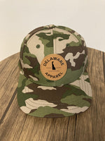 Camo Leather Patch Snapback ***NEW***