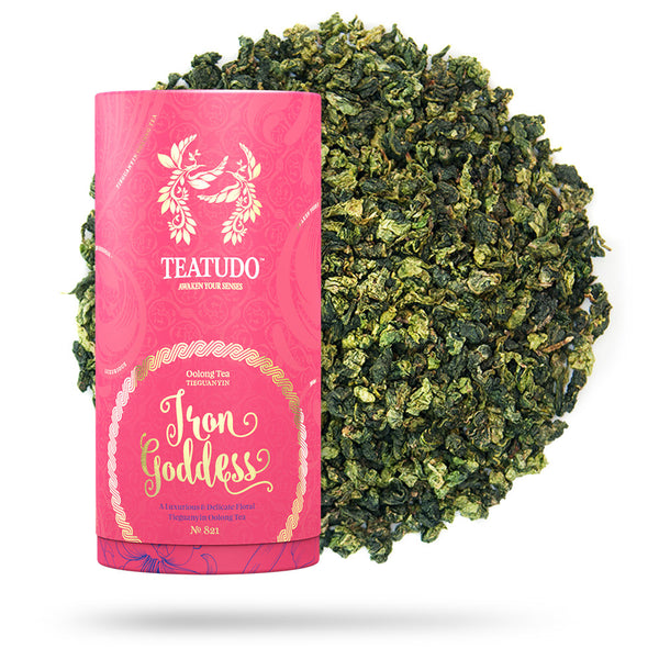 Iron Goddess - Oolong Tea - Teatudo Premium Teas