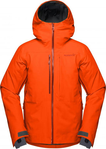 Lofoten Gore-tex insulated Jacket oranje