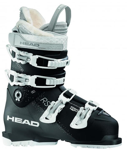 Head Vector 90 Zwart/wit dames skischoen