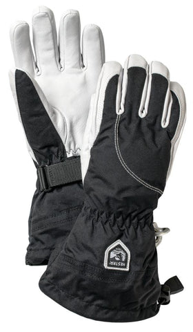 Army Leather Heli Ski Glove 5 finger