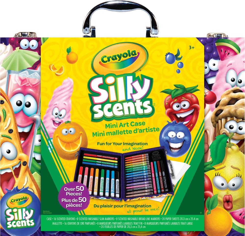 Silly Scents - Mini mallette d'artiste Inspiration- Crayola