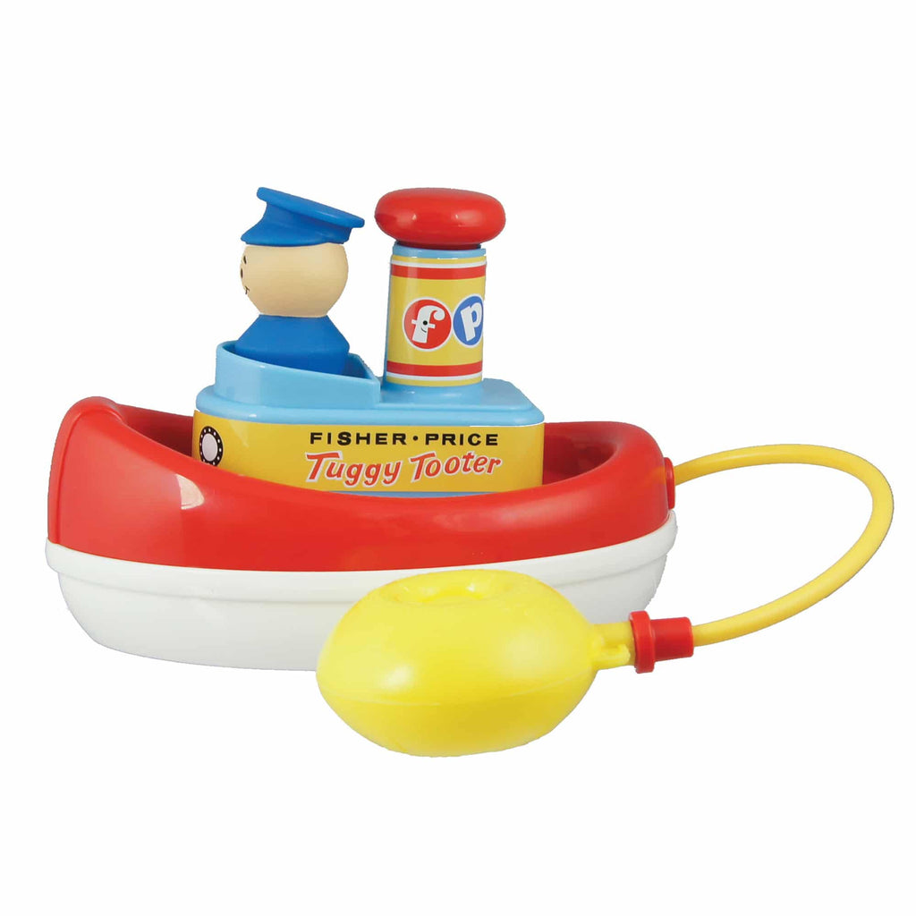 FISHER PRICE TUGGY TOOTER vintage - schylling