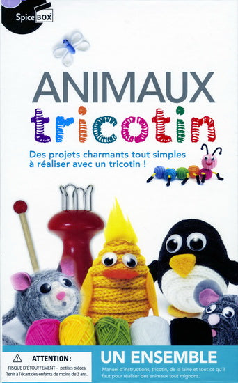 Animaux tricotin