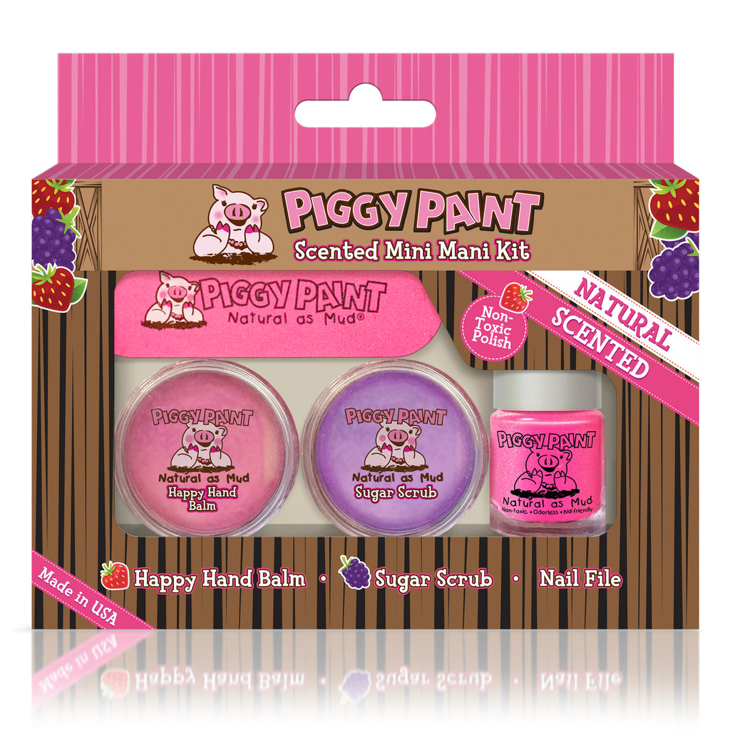 Mini Mani Kit - Piggy Paint