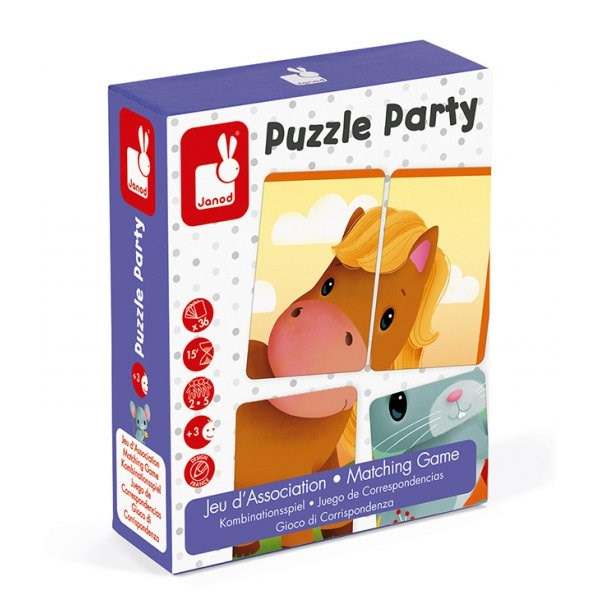 Jeu d'association - puzzle party - Janod