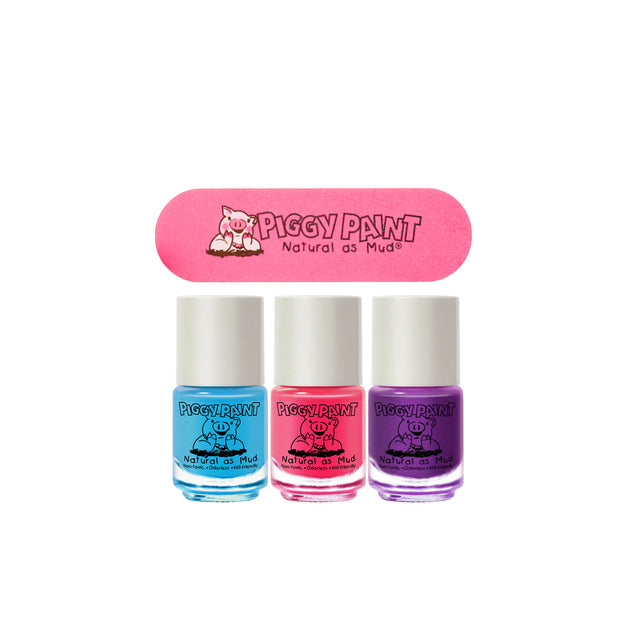 Ensemble de 3 vernis -Piggy Paint