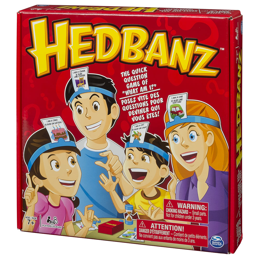 Jeu Hedbanz Famille - Spin Master