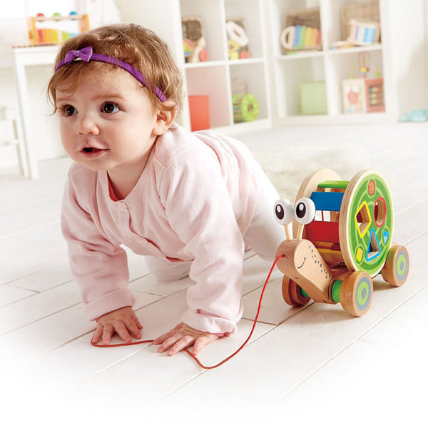 Hape- Walk a long escargot