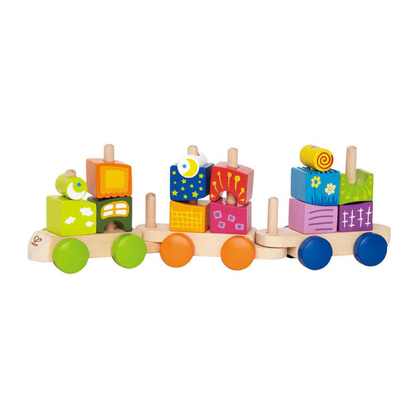 Hape TRAINS BLOCS FANTAISIE