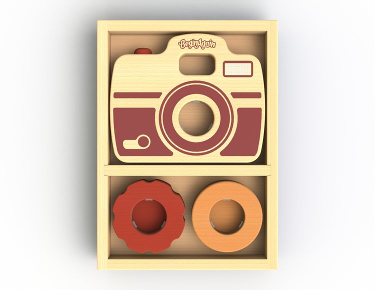 Shutterbug camera - Begin Again