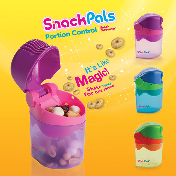 Wow KIDS- Portion controle Snack Pals 18mois