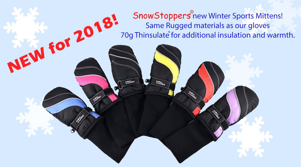 Mitaines Sport reste-en-place - Snow stoppers