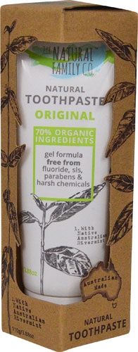 Natural Family Co Natural Toothpaste- Pâte à dent naturel