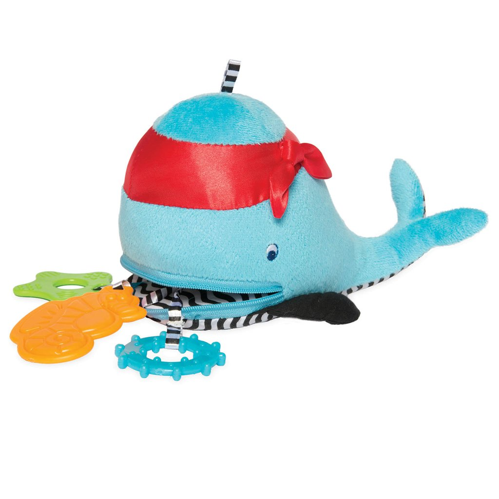 Zip & Play - Waldon Whale - Manhattan Toy