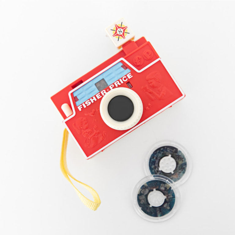 Fisher-Price Classics Changebale Disc Camera vintage - schylling