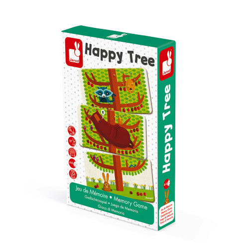Happy Tree - Jeu de mémoire - Janod