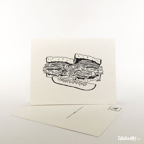 Carte postale - Cartes Illustrations Darveelicious