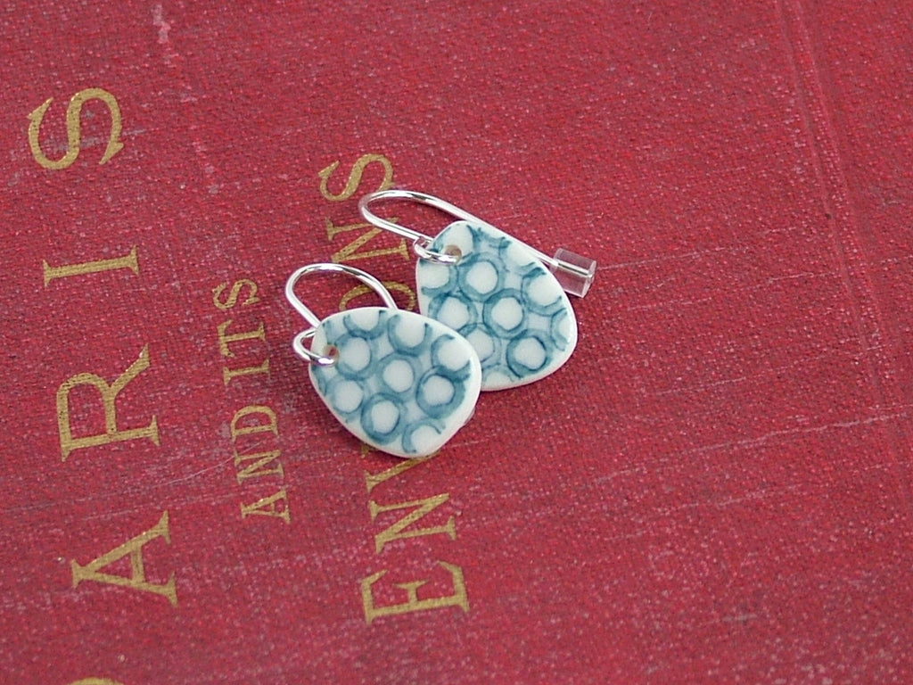 Loops Porcelain Earrings