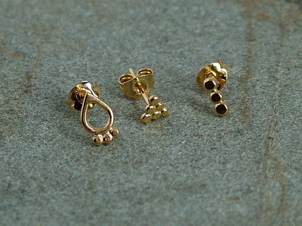 Set of Three Odd Studs Style 2