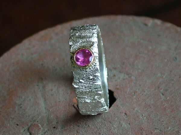 Rivda Ring with Pink Tourmaline