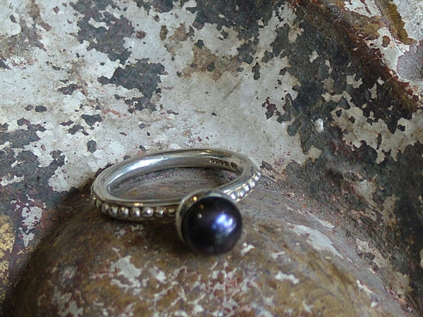Vintage and Preloved Dower and Hall Pearl Twinkle Ring