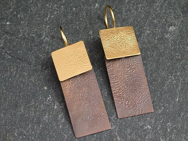 Square and Rectangle Earrings