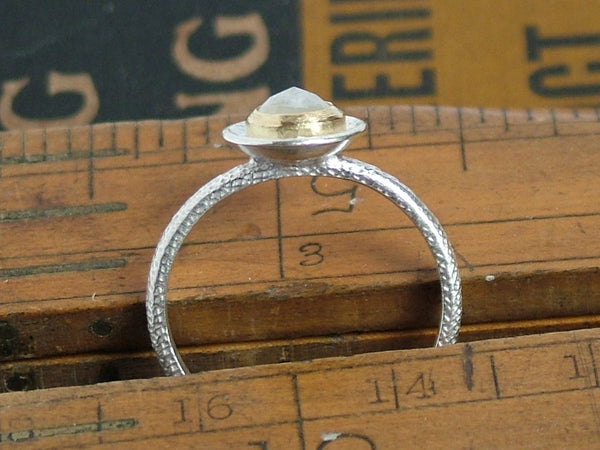 Moonstone Cup Ring