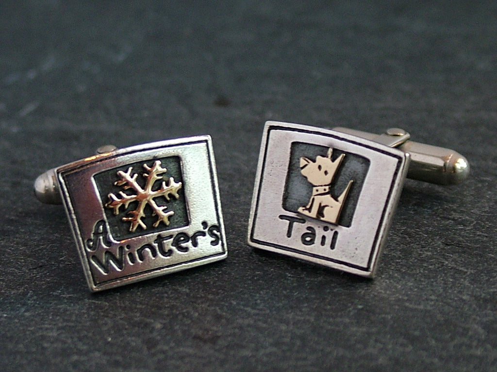 A Winter's Tail Cufflinks